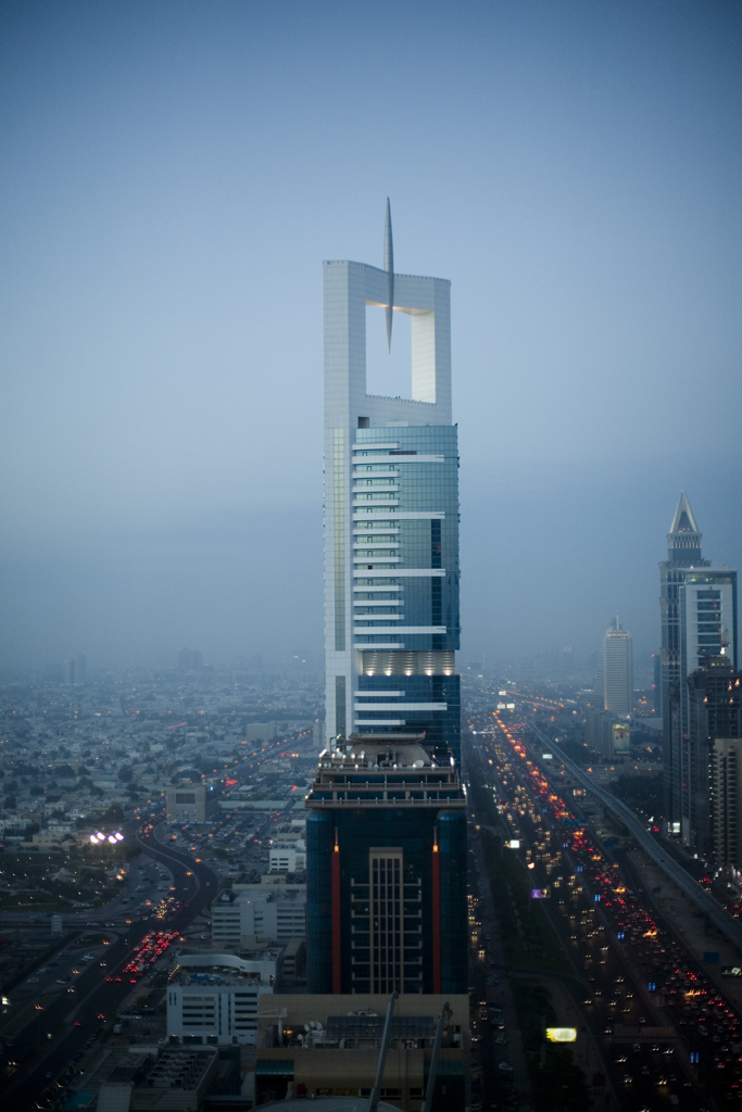 Dubai - Chelsea Tower and the city