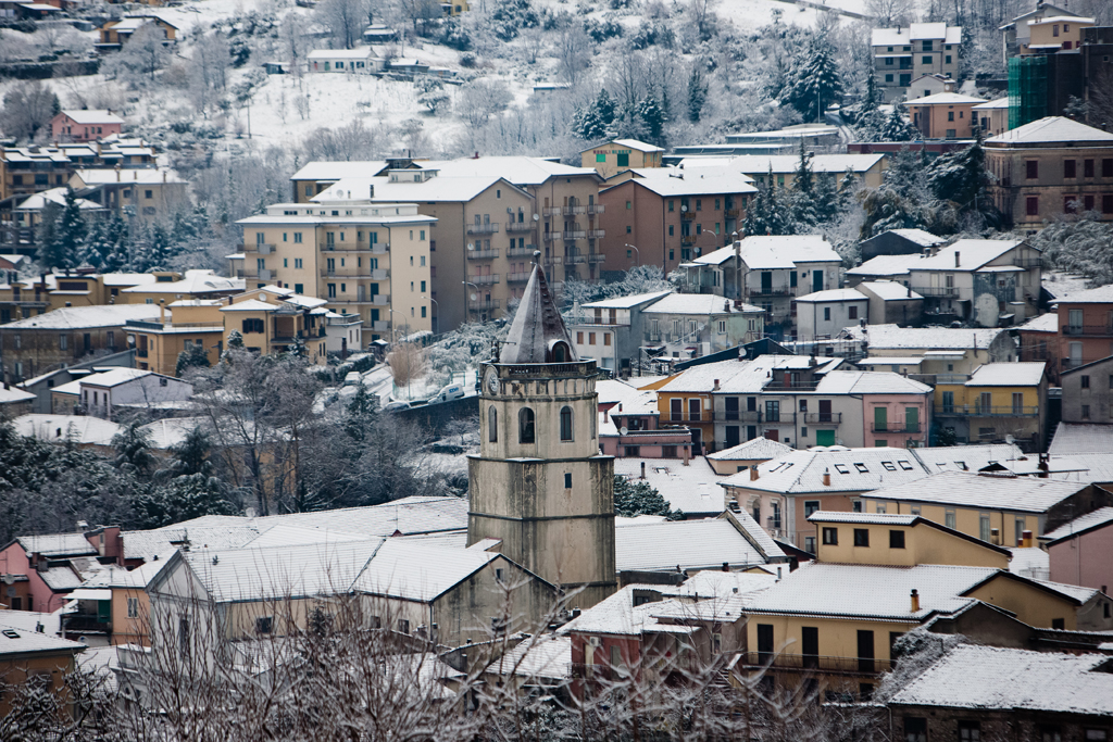 Lauria - San Nicola - 2010 Snow