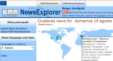 news explorer