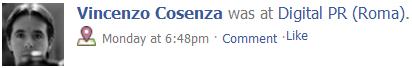 Usare Facebook Places dall'Italia