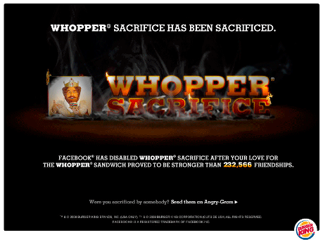 whoppersacrificed