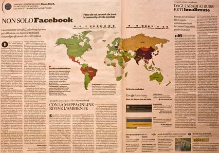 La mappa su Nòva – ipotesi sul futuro dei social network