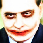 Berlusconi-Joker: small icon for facebook