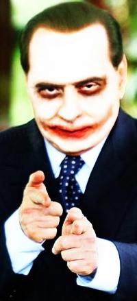 Berlusconi-Joker – Icone per la libertà di stampa